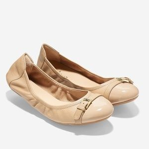 NWT COLE HAAN Palaria Leather Ballet Flat Size 7.5
